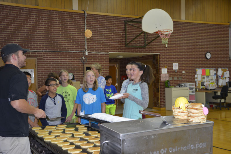 School-wide Pancake Breakfast For Students And Faculty – During The First Full Week Of School